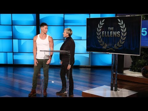 Ellen Hands Out Trophies at First-Ever Ellen Awards