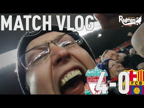 Liverpool v Barcelona 4 0
