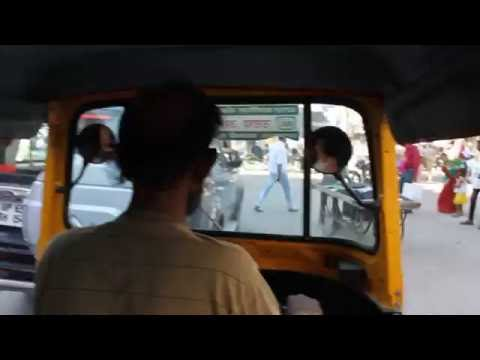 Sounds and sights of traffic in Varanasi, India