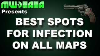 Best spots for infection.. ON ALL MAPS! HERE! (Map times are in the description)