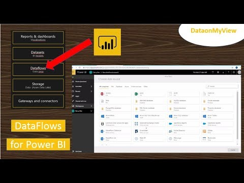 What is Power BI dataflows? A quick look at Power BI dataflows