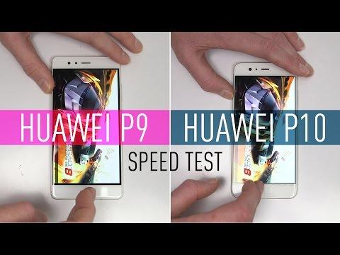 Huawei P10 v P9: Speed Test