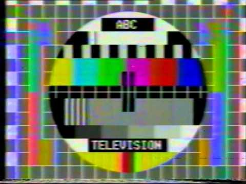 ABC Test Pattern Australian station ID 1975