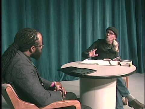 ROYALE L'RADIN on talk show Weave of Words discussing Poetry.
