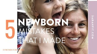 5 Mistakes That I Made With My 1st Baby & Things I'm Doing Different 2nd Time Around!
