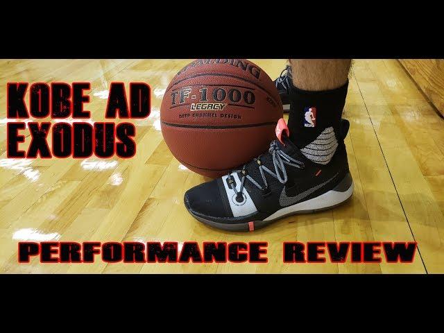 online store 0cbb2 e26ed Nike Kobe A.D. Exodus Performance Analysis and Review   schwollo.com
