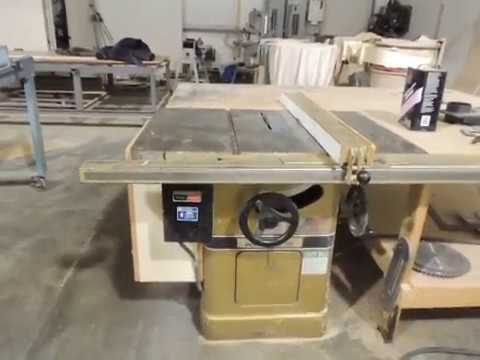 Penny Test for Powermatic 66 table saw