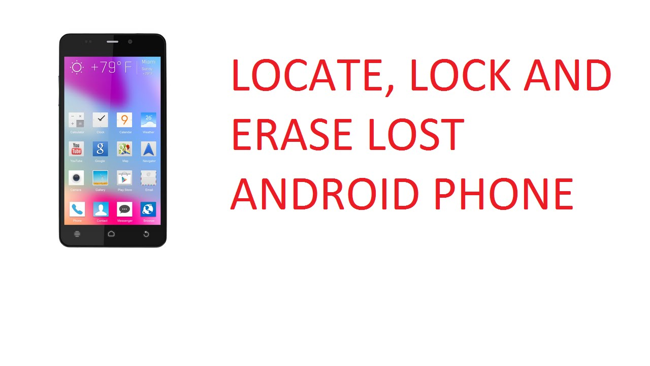 Phone Track Android Phone After Lost how can you track your lost android phone and lock it or erase using an iphone without any app