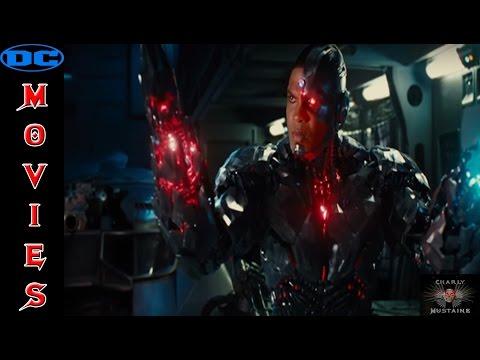 El ORIGEN de Cyborg en Justice League.