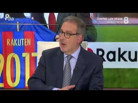 Rakuten, el nou patrocinador del Barça | La tertúlia esportiva [8aldia][8tv]
