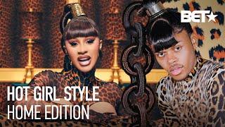 "CARDI B & MEGAN THEE STALLION ""WAP"" CIRCLE LINK HAIR TUTORIAL W/ KAHH SPENCE"
