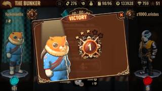 My Trials Frontier Progress as of February 28, 2016 - Candy Rush Bunker Season