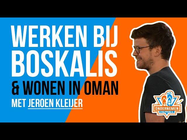 Werken bij Boskalis & Wonen in Oman met Jeroen Kleijer