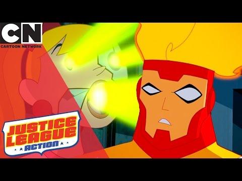 Justice League Action | Firestorm | Cartoon Network