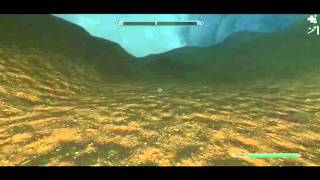 Skyrim: Dragonborn DLC, climbing Red Mountain