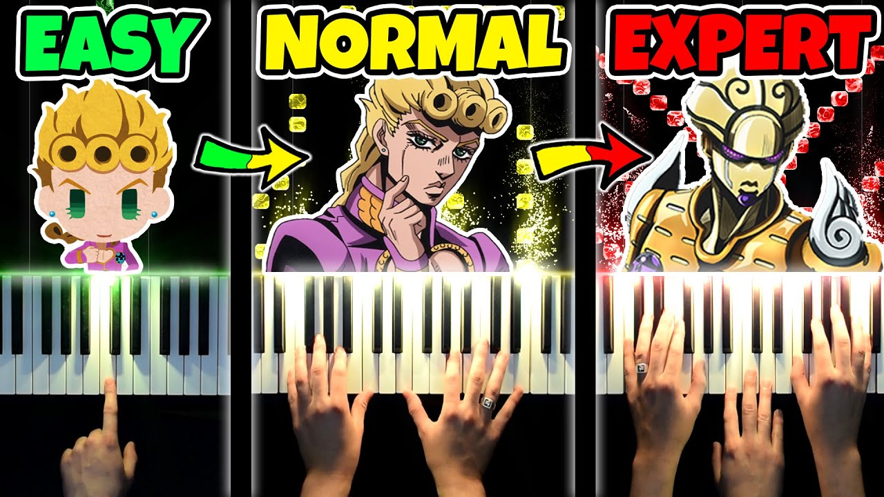 GIORNO'S THEME from TOO EASY to IMPOSSIBLE
