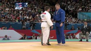 Judo - RUS vs USA - Men -100 kg Semi Final - London 2012 Paralympic Games