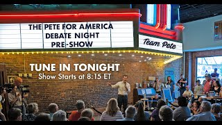 PFA's November Debate Pre-Show   Pete Buttigieg
