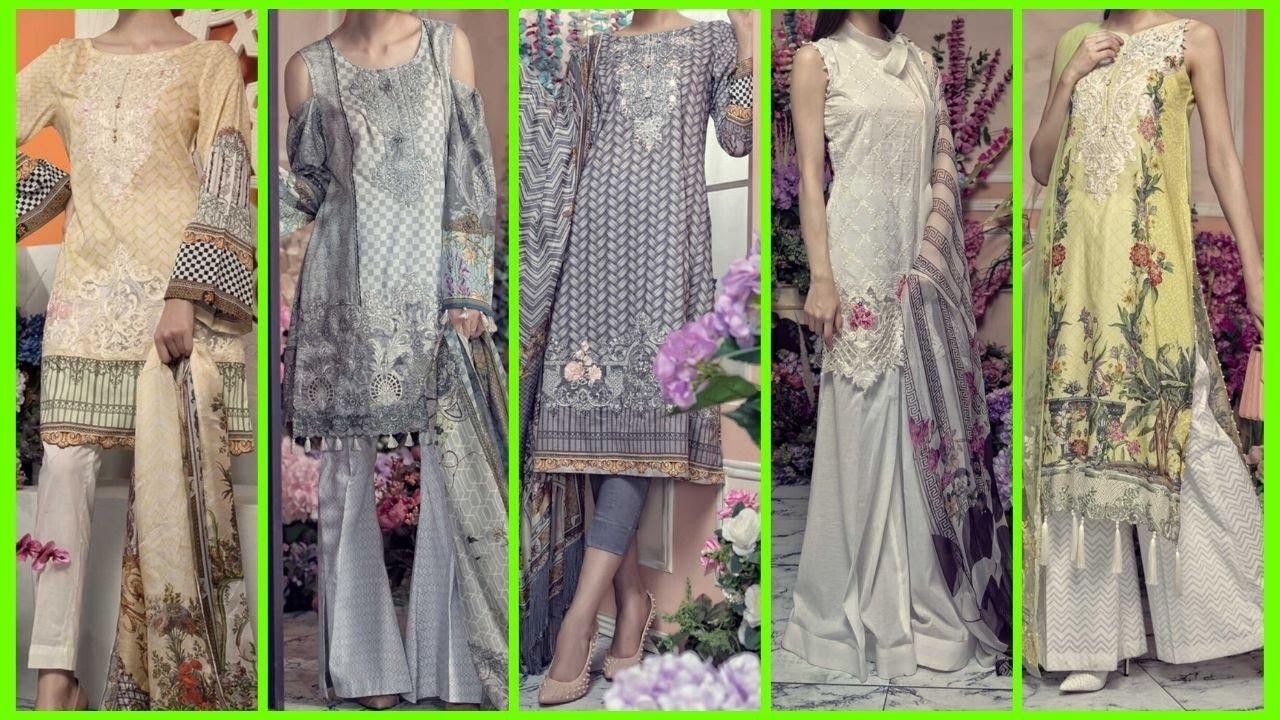 Latest Pakistani Dress Designs For Ladies Pakistani Dressing Style New Girls Dress Design 2020 Youtube