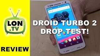 Verizon Droid Turbo 2 / Moto X Force Review & Drop Test! The Shatterproof Smartphone!
