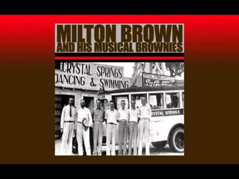 MILTON BROWN & His Musical Brownies - Texas Hambone Blues (1936)