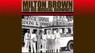 Milton Brown & His Musical Brownies - Texas Hambone Blues (1936)