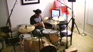 B.O.B. (Bombs Over Baghdad) - Outkast Drum Cover By Jason Heine