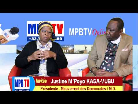 RDC-Manipulation sur la Cenco et Tshisekedi…Justine Kasa-Vubu Exige le depart de Kabila