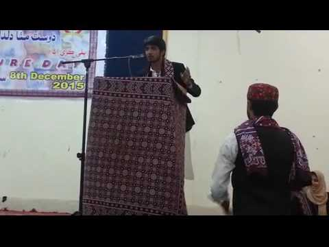 SINDHI SPEECH ABOUT OUR LOVELY SINDHI TOPI AJRAK DAY..... BY SHAH NAZEER MAHESAR