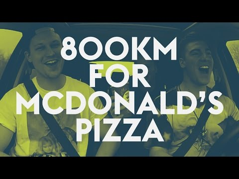 3 guys travel 800km to buy McDonald's Pizza in West Virginia