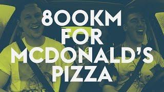 3 guys travel 800km to buy McDonald