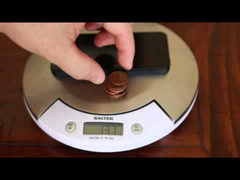 How Much Does The Iphone Weigh Pennies Less Than The Iphone 4s