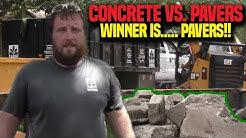 Concrete driveway Redo