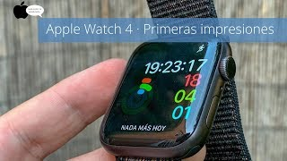 Apple Watch Series 4 · Unboxing, opinión y primeras impresiones en Español