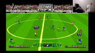 Adidas Power Soccer Sony Playstation PS1 Gameplay Unfiltered
