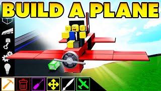 ROBLOX PLANE BUILDER!