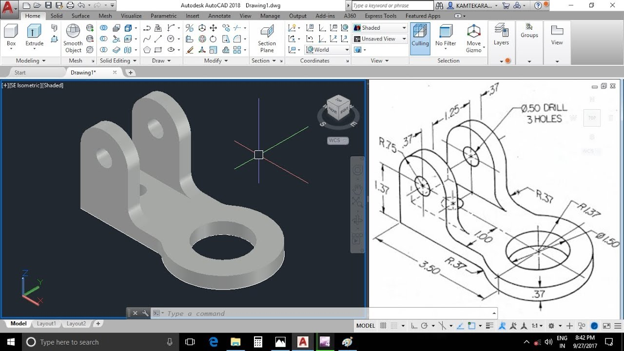 solidworks step by step exercises pdf
