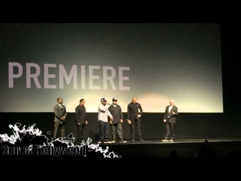 "F. Gary Gray & N.W.A. At The ""Straight Outta Compton"" World Premiere"