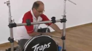 how to install traps drum