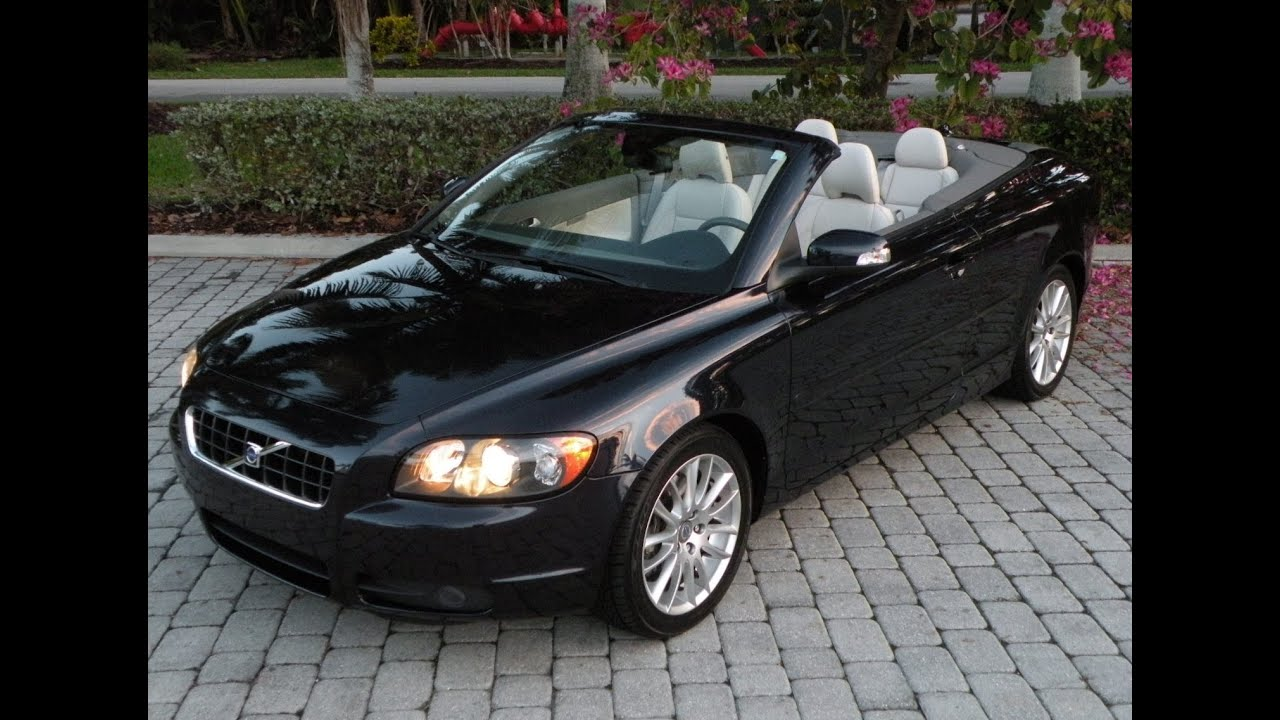 used volvo c70 hardtop convertible for sale fort myers. Black Bedroom Furniture Sets. Home Design Ideas