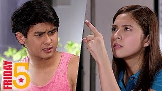 Friday 5: Most 'Kilig' Rumble of Nica and Red in Araw Gabi