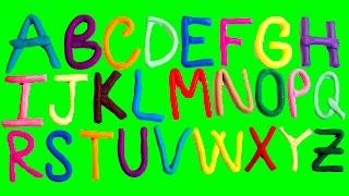 playdoh alphabet play doh abc learn the alphabet phonics songs nursery rhymes