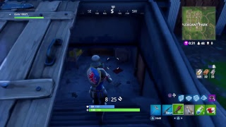 Fortnite game play ps4 crossbow only