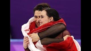 Médaille d'or de Tessa Virtue et Scott Moir à Pyeongchang