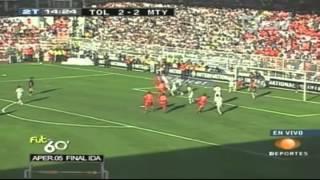 Toluca 3 Monterrey 3 Final ida A05 15Dic2005