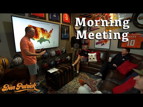 Morning Meeting: Paul's Foliage Map Presentation Does Not Go According To Plan... | 09/16/21