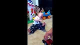 Funniest baby laugh