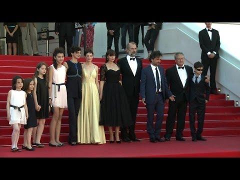 """Cannes 2014: conférence de presse du film """"Le meraviglie"""""""