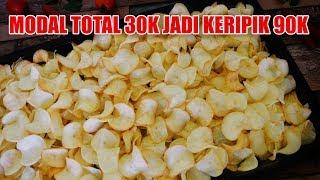 Download Keripik Singkong Kriuk Kres 2 Bahan + Tips Trik
