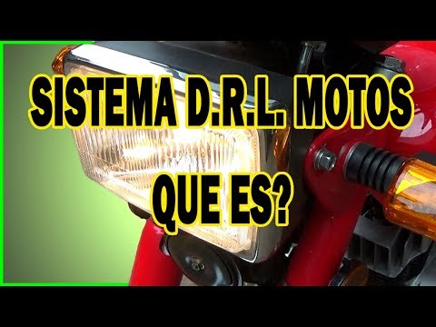 I can not turn off the lights of my Moto - DRL System What is it?